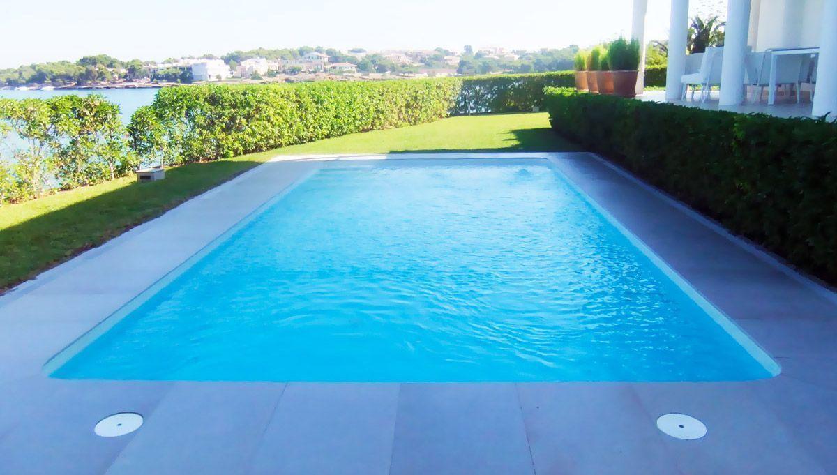 La piscina m s econ mica del mercado y con 10 a os de Construccion de piscinas economicas